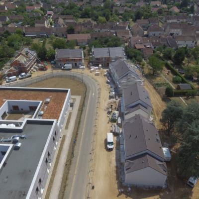 photo aérienne La Grande Paroisse drone